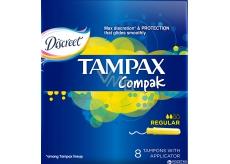 Tampax Compak Regular dámské tampony 8 kusů