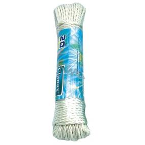 Clanax Šňůra na prádlo polyethylene 20 m různé barvy 1 kus