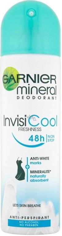 Garnier Mineral Invisi Cool deodorant sprej pro ženy 150 ml
