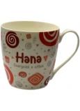 Nekupto Twister hrnek se jménem Hana červený 0,4 litru 021 1 kus