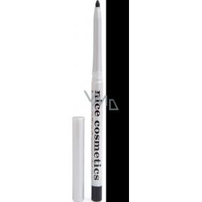 Diva & Nice Vysouvací konturovací tužka na oči s ořezávátkem 01 Černá 1,2 g