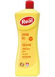 Real Creme Gel Kuchyně krémový gel na indukční, sklokeramické desky a další citlivé povrchy 650 g