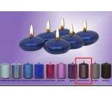 Lima Čočka plovoucí svíčka metal temně fialová 50 x 25 mm 6 kusů