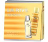 La Rive for Woman parfémovaná voda pro ženy 90 ml + deodorant sprej 150 ml, dárková sada