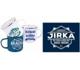 Albi Plechový hrnek se jménem Jirka 250 ml