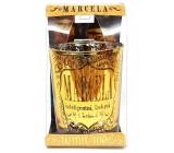Albi Třpytivý svícen ze skla na čajovou svíčku MARCELA, 7 cm