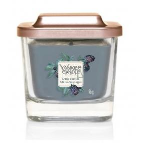 Yankee Candle Dark Berries - Ostružiny sojová vonná svíčka Elevation velká sklo 1 knot 96 g