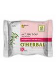 O Herbal Natural Goji a červená hlína přírodní toaletní mýdlo 100 g