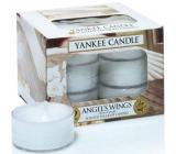 Yankee Candle Angels Wings - Andělská křídla vonná čajová svíčka 12 x 9,8 g