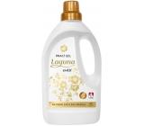 Laguna Svěží prací gel s vůní květů fialek doplněnou tóny ylang-ylang na praní světlého prádla 42 dávek 1,5 l