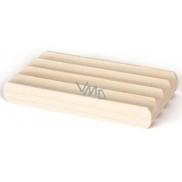 Fragrant Mýdlenka - dřevěná podložka pod mýdlo z měkkého dřeva 7,5 x 11 cm