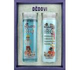 Bohemia Gifts Nejlepší děda sprchový gel 200 ml + šampon na vlasy 200 ml, kosmetická sada