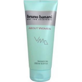 Bruno Banani About sprchový gel pro ženy 200 ml