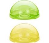 Nuk Ochranný box na šidítko zelený - žlutý - fialový 1 kus