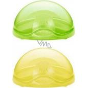 Nuk Ochranný box na šidítko zelený - žlutý - fialový 1 ks
