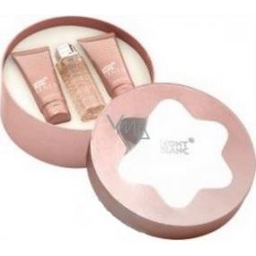 Montblanc Legend pour Femme parfémovaná voda pro ženy 75 ml + tělové mléko 100 ml + sprchový gel 100 ml, dárková sada