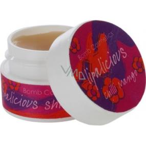 Bomb Cosmetics Mango a chilli - Lipalicious Mango and Chilli Balzám na rty se třpytkami 9 ml
