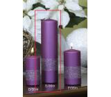 Lima Stuha svíčka violet válec 60 x 220 mm 1 kus