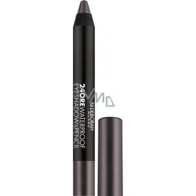 Deborah Milano 24Ore Waterproof Eyeshadow & Pencil oční stíny a tužka na oči 2v1 11 Mat Grey 2 g
