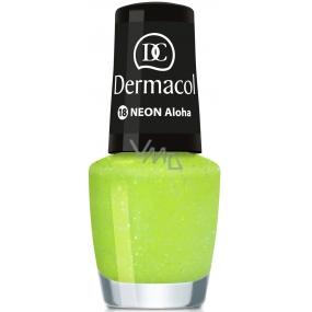 Dermacol Neon Polish Neonový lak na nehty 18 Aloha 5 ml