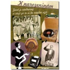 Albi Hrací přání k narozeninám Život je nádherný M. Schlesingerová, Jožka Srbová Život je jen náhoda