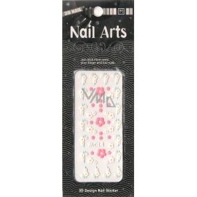 Nail Accessory 3D nálepky na nehty 10100 MC14 1 aršík