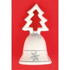 Zvonek keramický se stromkem 9 cm
