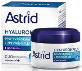 Astrid Hyaluron Plus Zpevňující noční krém proti vráskám 50 ml