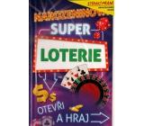 Nekupto Stírací přání k narozeninám Super loterie G 31 3347 21,5 x 13,5 cm