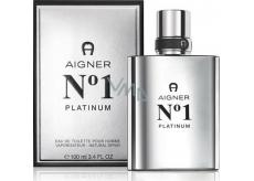 Etienne Aigner Aigner No.1 Platinum toaletní voda pro muže 100 ml