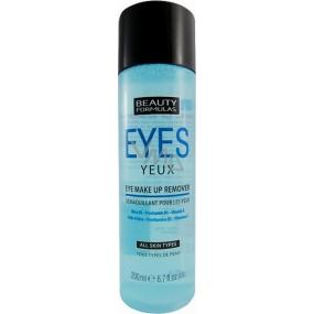 Beauty Formulas Eye Make-up Remover odličovač očí 200 ml