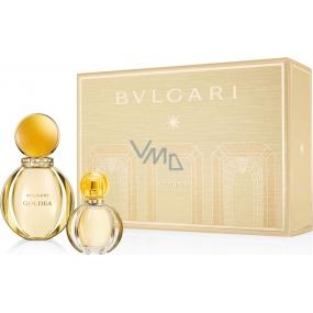 Bvlgari Goldea parfémovaná voda pro ženy 50 ml + parfémovaná voda 15 ml, dárková sada
