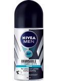 Nivea Men Invisible Black & White Fresh kuličkový antiperspirant deodorant roll-on 50 ml