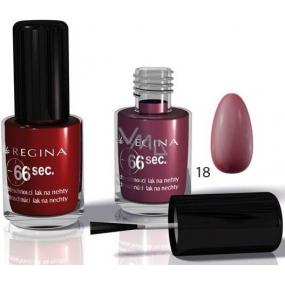 Regina 66 sec. rychleschnoucí lak na nehty č. R18 8 ml