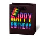 BSB Luxusní dárková papírová taška 23 x 19 x 9 cm Happy Birthday LDT 397 - A5
