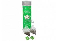 English Tea Shop Bio Zelený čaj 15 kusů bioodbouratelných pyramidek čaje v recyklovatelné plechové dóze 30 g