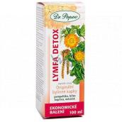 Dr. Popov Lymfa Detox originální bylinné kapky obsahují tradičně užívané byliny s detoxikačními účinky 100 ml