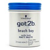 Got2b Beach boy Pasta matující pasta pro muže 100 ml