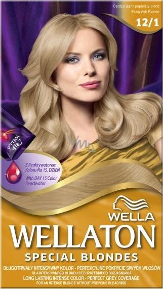 Wella Wellaton krémová barva na vlasy 12 1 Světle popelavá blond ... 791ec8d6027