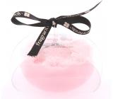 Fragrant Issey Women Glycerinové mýdlo masážní s houbou naplněnou vůní parfému Issey Miyake Women v barvě růžové 200 g