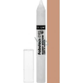 Miss Sporty Fabulous Glossy Eyeshadow oční stíny v tužce 160 Peanut Butter 5 g