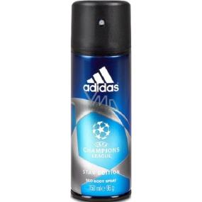 Adidas UEFA Champions League Star Edition deodorant sprej pro muže 150 ml