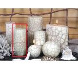 Lima Nevada svíčka slonová kost válec 60 x 120 mm 1 kus