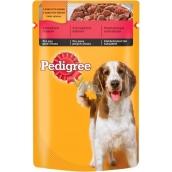 Pedigree Adult s hovězím masem v želé kapsička 100 g