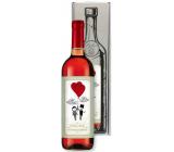 Bohemia Gifts Svatba dárkové víno 0,75 l