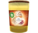 Air Wick Life Scents Vůně vanilkového pečiva vonná svíčka sklo 185 g