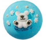 Bomb Cosmetics Polární medvěd Šumivý balistik do koupele 160 g
