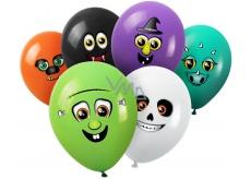 Balónky nafukovací Příšerky, k dotvoření 6 kusů
