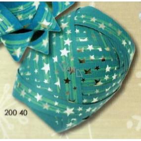 Nekupto Klubíčko Luxus vánoční modrá 1 cm x 10 m 200 40