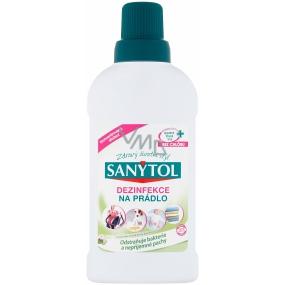 Sanytol Aloe Vera a květy bavlny dezinfekce na bílé i barevné prádlo a pračky 500 ml